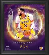 "Anthony Davis Los Angeles Lakers Framed 15"" x 17"" Stars of the Game Collage - Facsimile Signature"