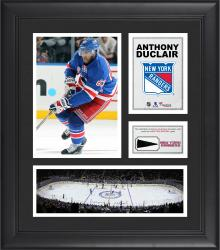 """Anthony Duclair New York Rangers Framed 15"""" x 17"""" Collage with Piece of Game-Used Puck"""