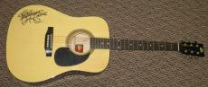 Anthony Kiedis Signed Full Size Acoustic Guitar Red Hot Chili Peppers Psa Coa