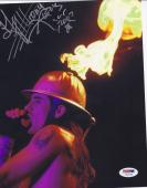 Anthony Kiedis Signed Red Hot Chili Peppers 8x10 Photo Autograph Psa/dna Coa