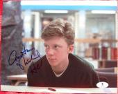 Anthony Michael Hall Breakfast Club signed 8x10 photo Beckett BAS Authentic auto
