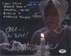 Anthony Michael Hall Signed 'weird Science' 8x10 Photo Autograph Psa/dna Coa
