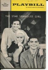 Anthony Perkins Connie Stevens The Star Spangled Girl Opening Night Playbill