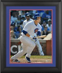 "Anthony Rizzo Chicago Cubs Framed Autographed 16"" x 20"" Stance Photograph"