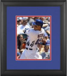 "Anthony Rizzo Chicago Cubs Framed Autographed 8"" x 10"" Close-Up Photograph"