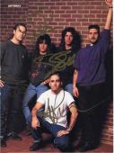 Anthrax Hard Rock Band Signed Color Magazine Photo Autograph Scott Ian