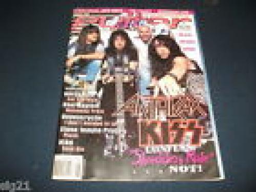 Anthrax Scott Ian IP Signed Guitar Magazine Cover