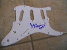 Anthrax Scott & Jeoy Signed Autographed Guitar Pickgurad PSA Guaranteed