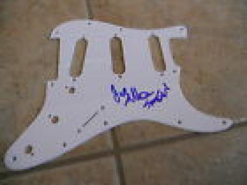 Anthrax Scott & Jeoy Signed Autographed Guitar Pickgurad PSA Guaranteed