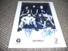 Anthrax x3 Signed Autographed 8x10 Vintage Promo 1994 Photo PSA Guaranteed #2