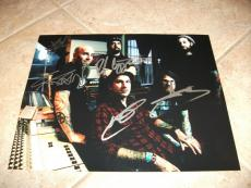 Anthrax x5 Signed Autographed 11x14  Live Concert Music Photo