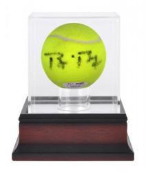Antique Mahogany Tennis Ball Display Case