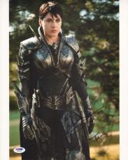 Antje Traue Signed 11x14 Photo PSA/DNA COA Man of Steel Superman Picture Auto'd