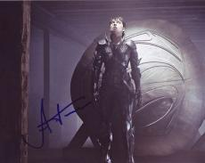 ANTJE TRAUE signed *SUPERMAN* Man Of Steel 8X10 photo Faora-Ul W/COA #3