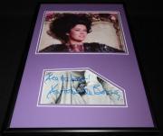 Antoinette Bower Signed Framed 12x18 Photo Display Star Trek