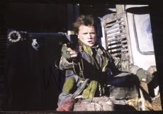 "Anton Yelchin Signed Autograph ""terminator Salvation"" Big Gun 8x10 Photo Coa"