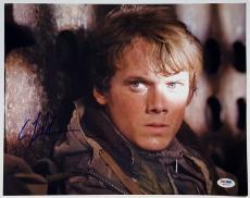 ANTON YELCHIN Signed Terminator Salvation 11x14 Photo PSA