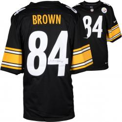 Antonio Brown Pittsburgh Steelers Autographed Nike Limited Black Jersey