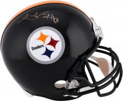 Antonio Brown Pittsburgh Steelers Autographed Riddell Replica Helmet