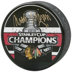 Antti Niemi Autographed Puck - Mounted Memories