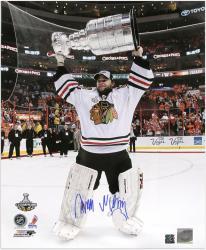 "Antti Niemi Chicago Blackhawks 2010 Stanley Cup Autographed 16"" x 20"" Photograph"