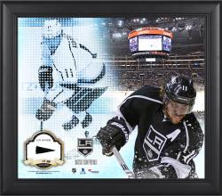 Anze Kopitar Los Angeles Kings Framed 15'' x 17'' Mosaic Collage with Piece Of Game-Used Puck-Limited Edition of 99