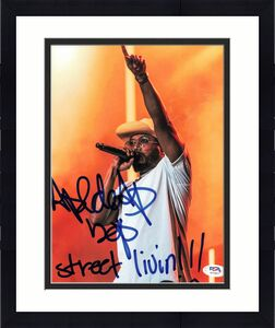 APL.DE.AP Allan Lindo signed 8x10 photo PSA/DNA Autographed Rapper