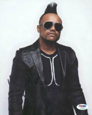 Apl.De.Ap The Black Eyed Peas Signed 8X10 Photo PSA/DNA #Y78078