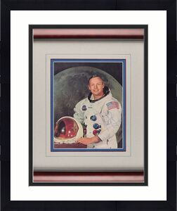 Apollo 11 Neil Armstrong Signed Autographed 8x10 Nasa Photograph Beckett BAS