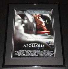 Apollo 13 1995 11x14 Framed ORIGINAL Advertisement Tom Hanks Kevin Bacon