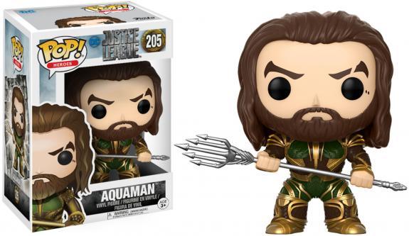 Aquaman Justice League #205 Funko Pop!
