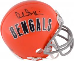 Archie Griffin Cincinnati Bengals Throwback Autographed Mini Helmet