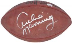 Archie Manning New Orleans Saints Autographed Pro Football - Mounted Memories