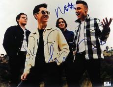 Arctic Monkeys Band Autographed 11X14 Photo Turner Cook O'Malley Helders 796594