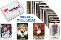 Gilbert Arenas -Washington Wizards- Collectible Lot of 20 NBA Trading Cards - Mounted Memories