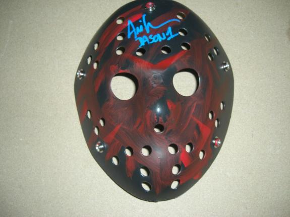 Ari Lehman 1st Jason Voorhees,friday The 13th #2 Fitterman/holo Signed Mask