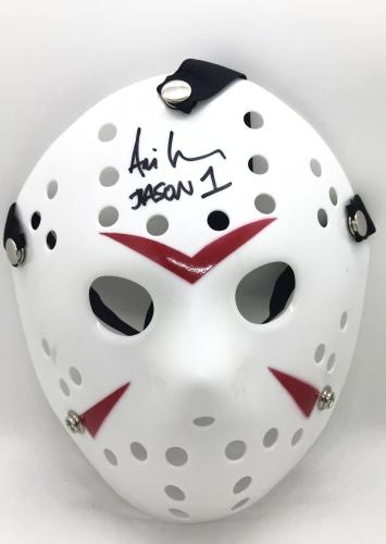 Ari Lehman Authentic Signed Jason Mask Autograph Friday the 13th JSA COA 3