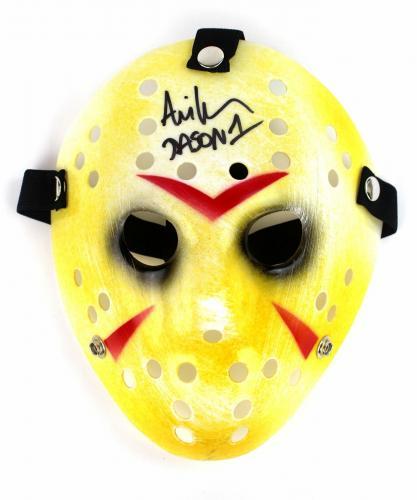 Ari Lehman Autograph Friday the 13th Jason Mask First Jason Signed JSA COA 4