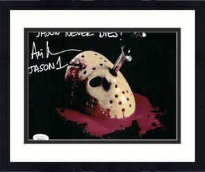 Ari Lehman Autographed Friday The 13th 8x10 Photo Jason Never Dies JSA 26213