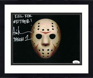 Ari Lehman Autographed Friday The 13th 8x10 Photo Kill For Mother JSA 26217