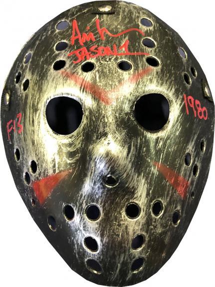 Ari Lehman Autographed Friday the 13th Jason Voorhees Bronze Mask