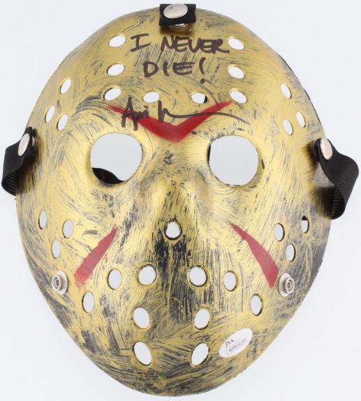 Ari Lehman Autographed Friday The 13th  Mask (jason Voorhees) - Jsa Coa!