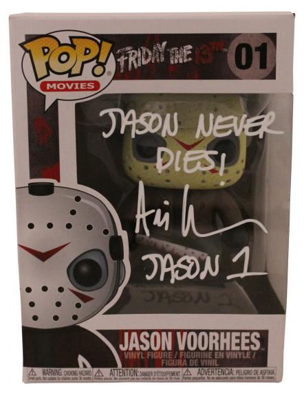 Ari Lehman Autographed Jason Voorhees Friday The 13th Funko Pop #01 JSA 26212