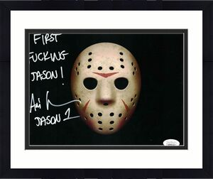 Ari Lehman Autographed/Signed Friday The 13th 8x10 Photo First Jason JSA 26218