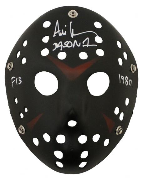 Ari Lehman Autographed/Signed Friday The 13th Black Mask F13 1980 JSA 26203