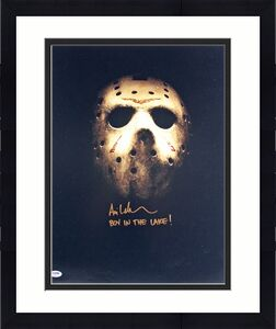 "Ari Lehman Friday The 13th ""Boy In The Lake!"" Signed 16x20 Photo PSA #AB40142"