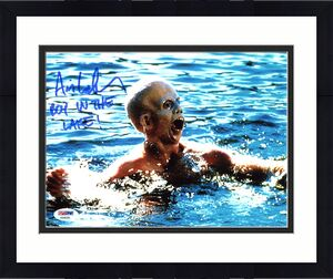 """Ari Lehman Friday The 13th """"Boy in the Lake!"""" Signed 8X10 Photo PSA/DNA"""