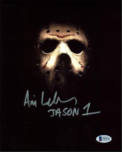 "Ari Lehman Friday The 13th ""Jason 1"" Signed 8x10 Photo BAS"
