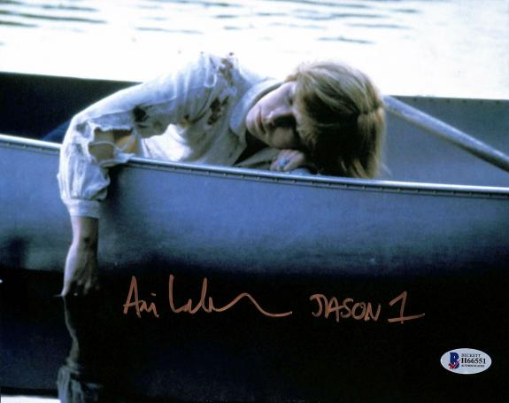 "Ari Lehman Friday The 13th ""Jason 1"" Signed 8x10 Photo BAS #H66551"