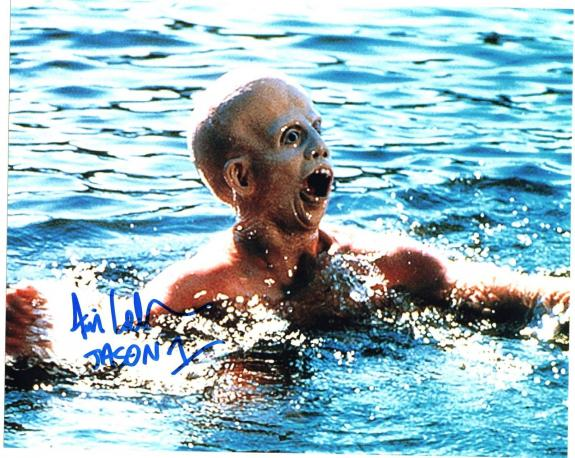 Ari Lehman Friday The 13th Movie Jason Signed 8x10 Photo w/COA #1